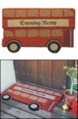 Door Mat London Bus 450 x 750mm