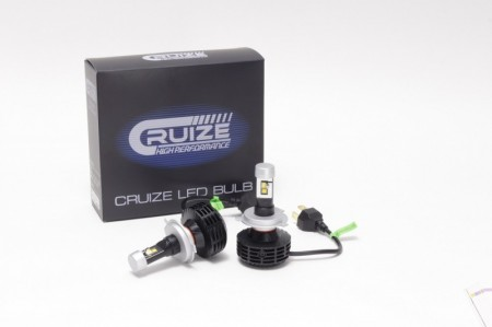 CRUIZE LED H4 Hi / Lo 5000K(White)